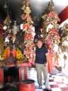Андрей в храме Читаи в Альморе