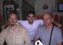 Андрей, Лев и Набин в Аппетит ресторане