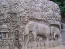 Мамаллапурам. Рельеф Покаяние Арджуны или Нисхождение Ганги